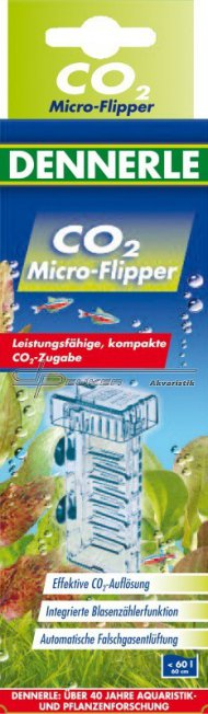 Dennerle Micro-Flipper / reaktor CO2 do 60 litrů
