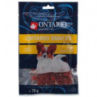 Ontario Snack Duck Dice Small dog 70g