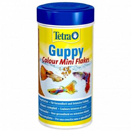 Tetra Guppy colour mini flakes 100g