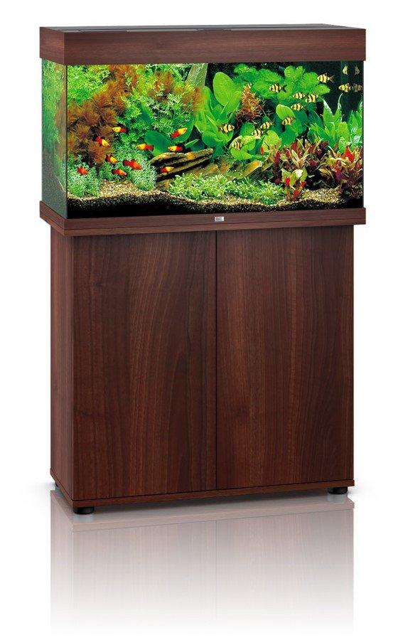 akv rium juwel rio 125 led tmav hn d peuker akvaristik. Black Bedroom Furniture Sets. Home Design Ideas