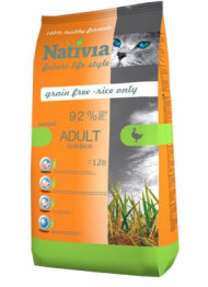 Nativia Adult Hairball Duck & Rice