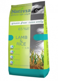 Nativia Adult Lamb & Rice 3 kg