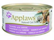 Konzerva APPLAWS Cat Mackerel & Sardine 70g