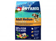 Ontario adult medium fish+rice, 2,25kg